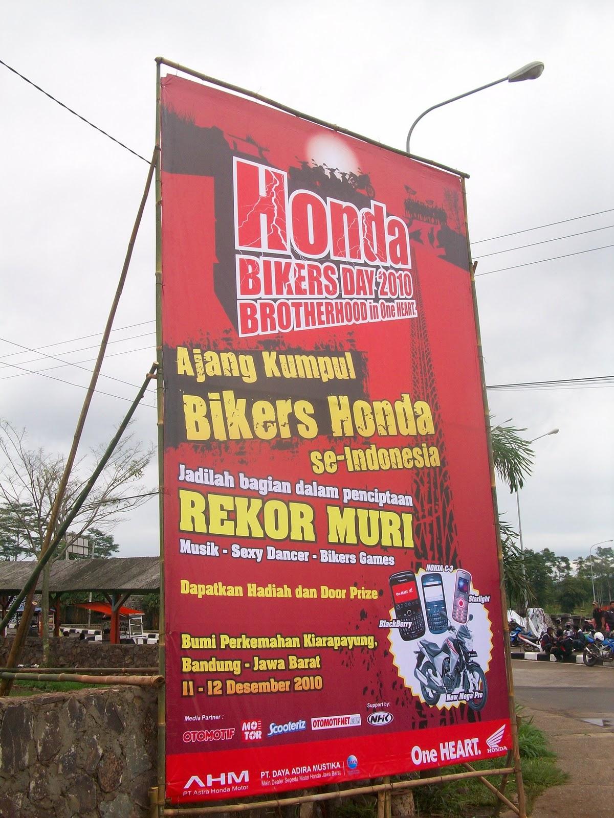 honda bikers day 2010 : benar-benar pestanya bikers honda