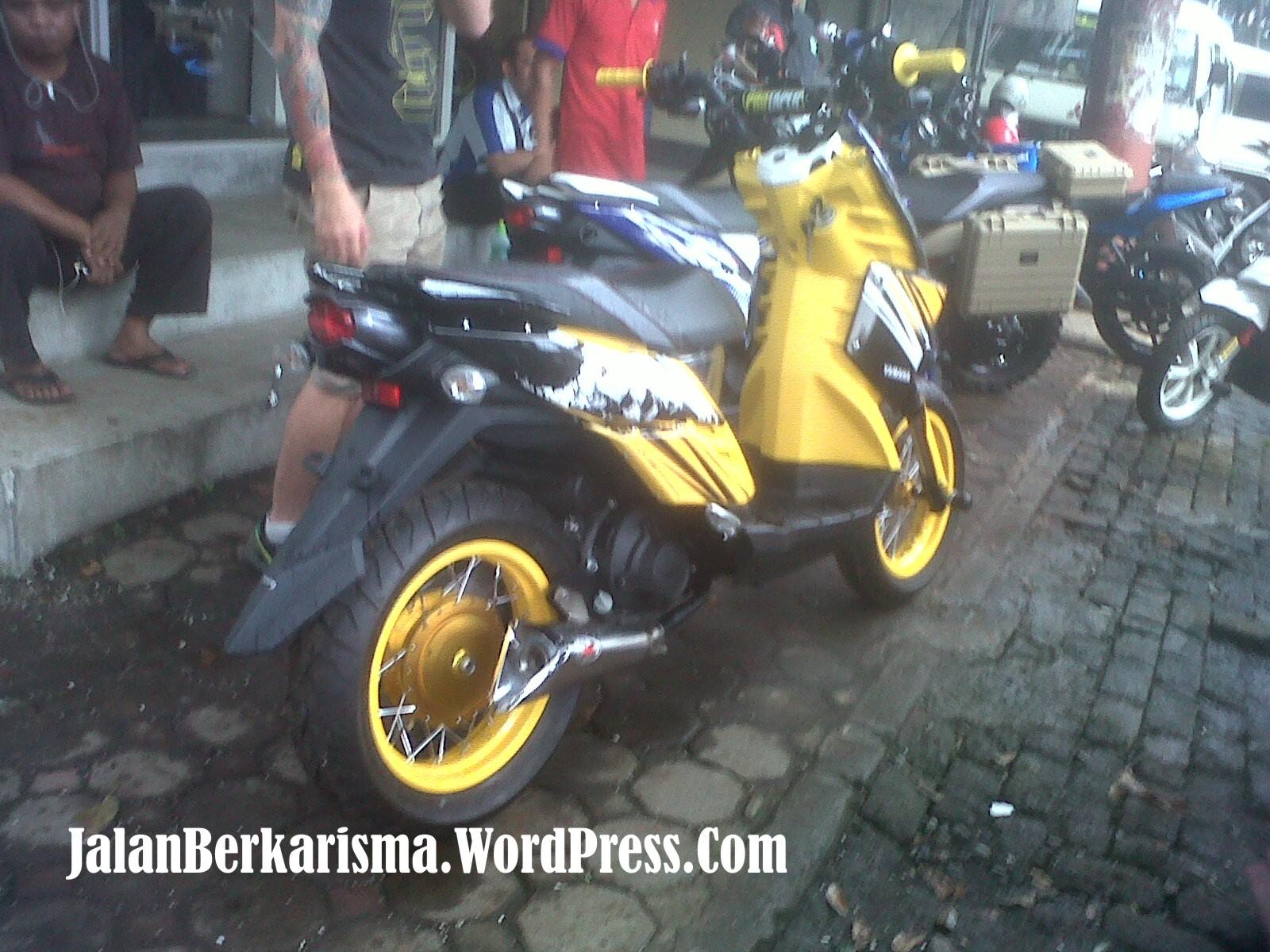 Bertemu X Ride Modif Untuk Acara Launching Nanti MenyusuriJalanCom