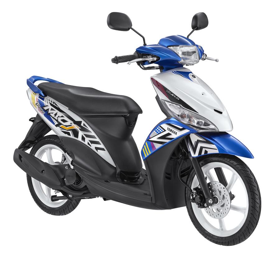 Modifikasi Mio J Biru Modif Motor Terbaru 2019