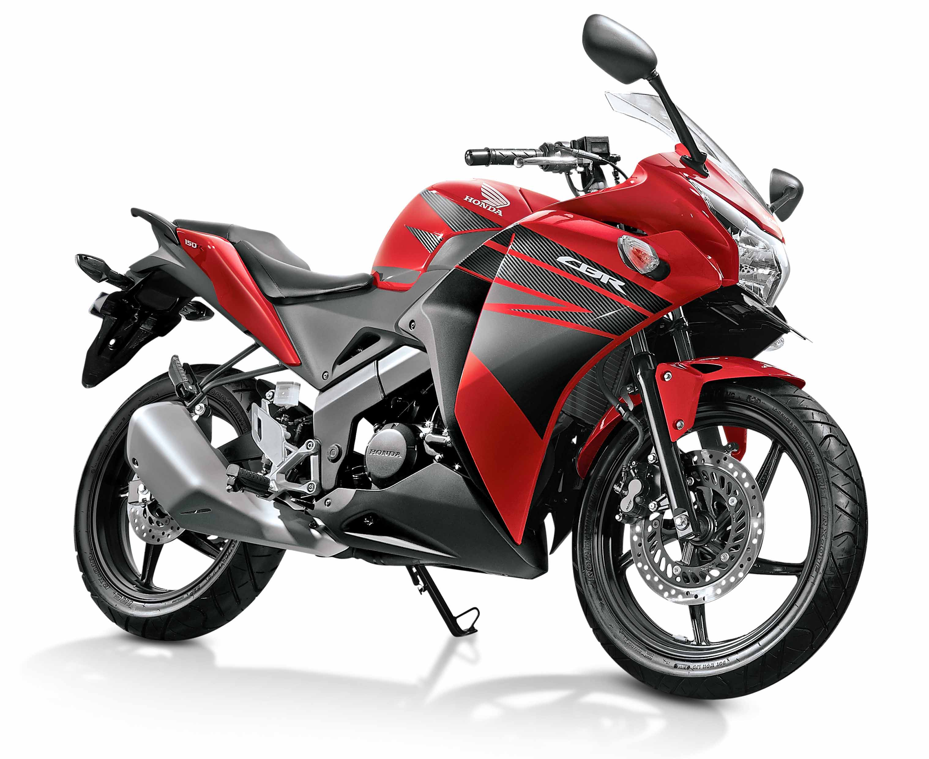 Tampilan Baru Cbr150r Sonic 150r Aggresso Matte Black Tangerang Honda Three Colors Millennium Red Asteroid Metallic