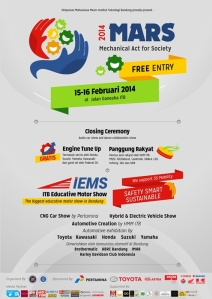 MARS-2014-'Mechanical-Act-for-Society-persembahan-ITB