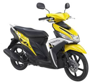 New Mio M3 125 Trending Yellow