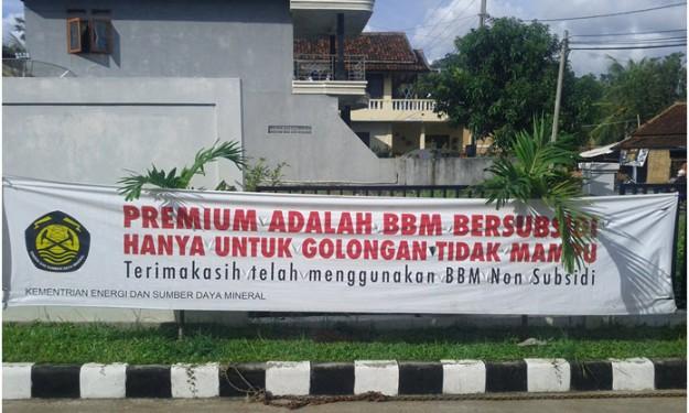 BBM Non Subsidi