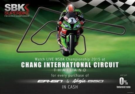Kawasaki Goes To Thailand