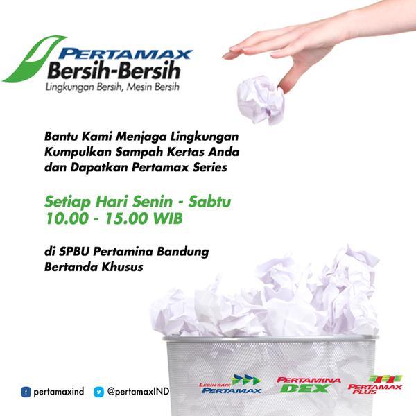Pertamax Bersih-bersih