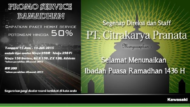Kawasaki Promo Ramadhan Service Hemat