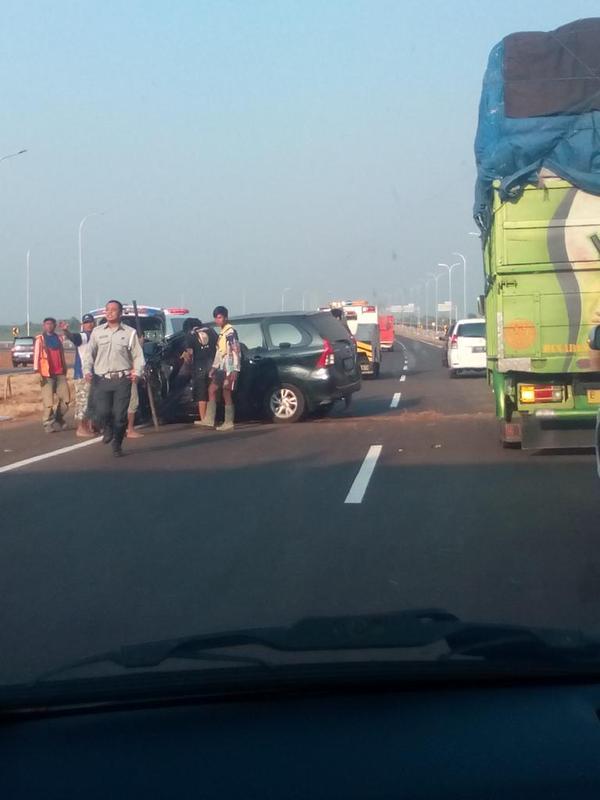 Kecelakaan Tol Cikapali
