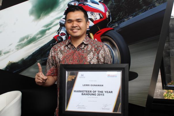 Lerri Gunawan Marketeer of the year