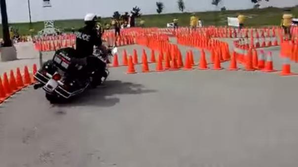 Safety Riding Polisi