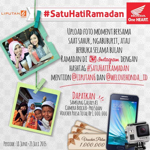 Satu Hati Ramadhan