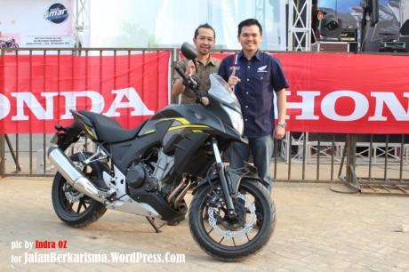 Konsumen Pertama Big Bike Honda Jawa Barat