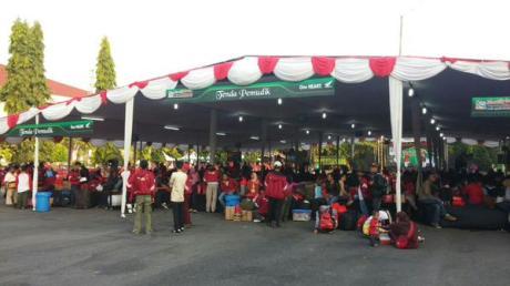 Jogja Expo Center Mudik Balik Bareng Honda
