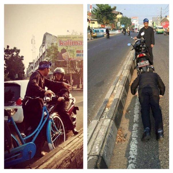 Ridwan Kamil Hukum Pemotor