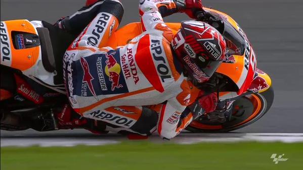 Marquez pole position Silverstone