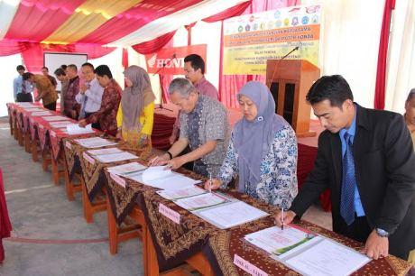 Peresmian Kurikulum Honda SMK di Garut