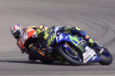 Rossi vs Pedrosa