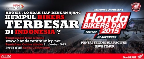 Honda Bikers Day 2015
