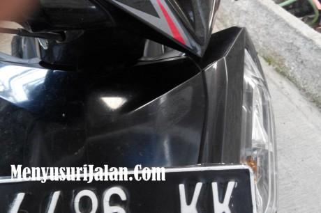 Emblem FI Honda Dicuri