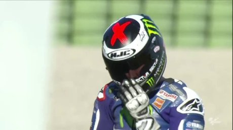 Lorenzo pole position
