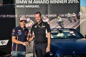 Marquez BMW M Award 2015