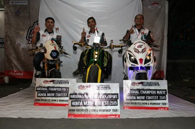 Juara Honda Modif Contest 2015