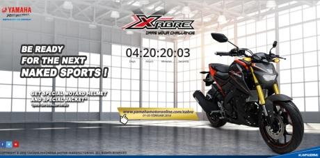 booking online Yamaha xabre