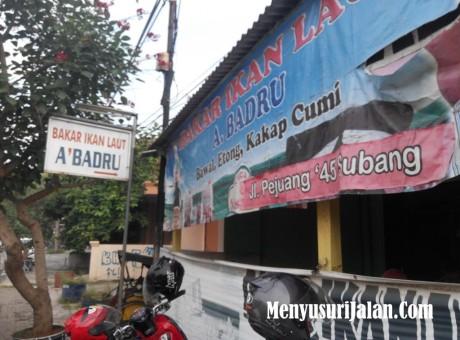 Ikan Etong Bakar A Badru