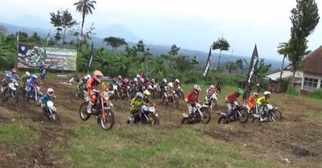 Kawasaki enduro Race Garut