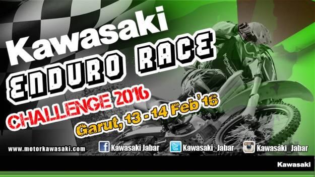 KAwasaki Enduro Race
