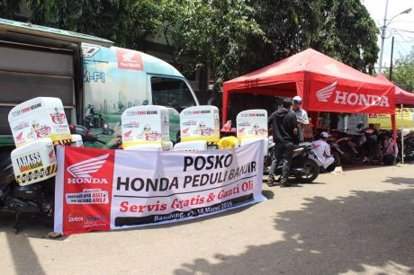 Honda peduli banjir