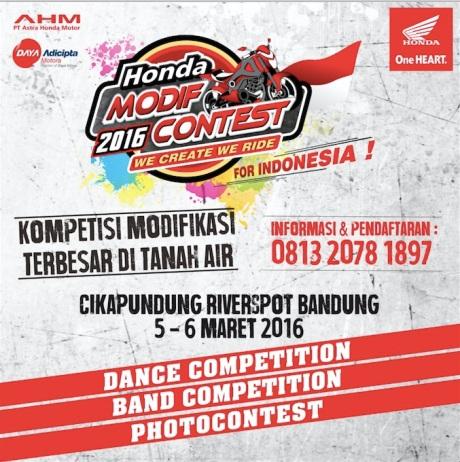 Photo Contest Honda Modif