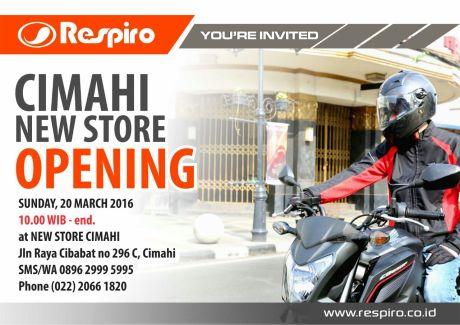 Store Opening Respiro Cibabat