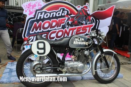 Ulah Adigung Project Honda Modif Contest