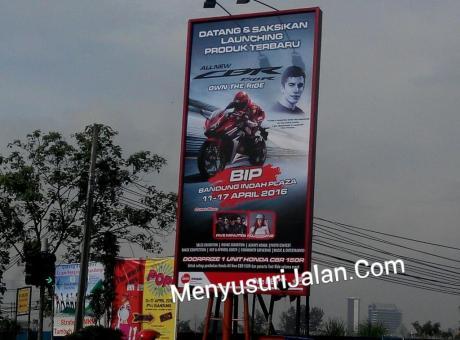 Launching CBR150R Bandung
