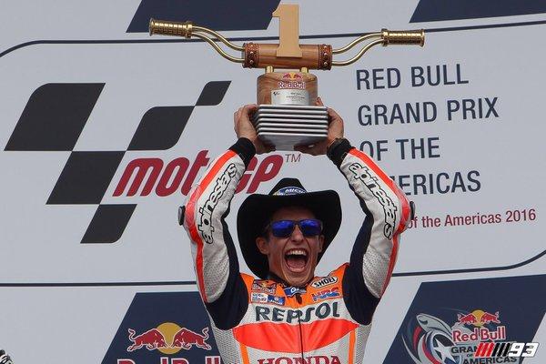 Marquez juara amerika