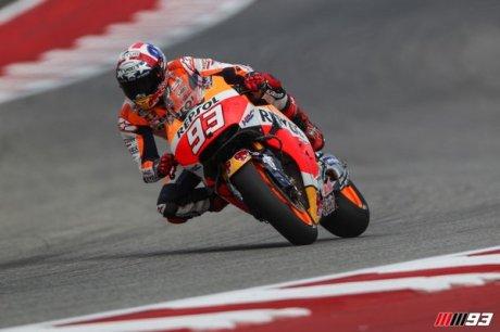 Marquez Pole Position Austin AMerika