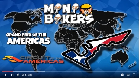 Minibikers seri Amerika