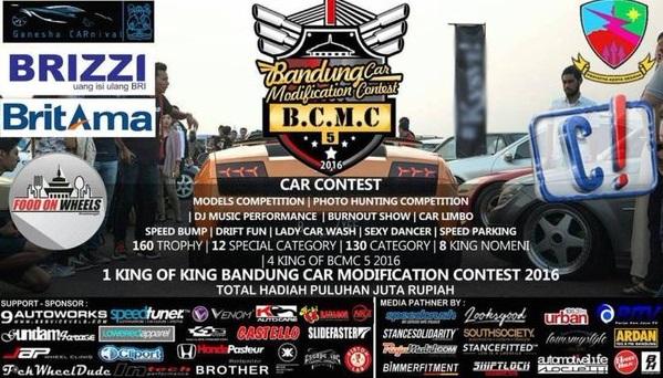 Bandung car modification contest 2016