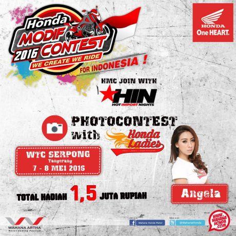 Honda Photo Contest WTC Ladies Honda