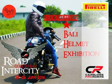 Jakarta Helmet Exhibition JHE Intercity Goes To Bali