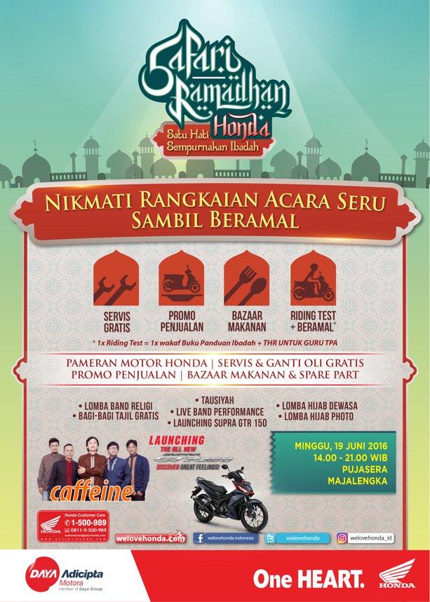 Safari Ramadhan Honda Majalengka