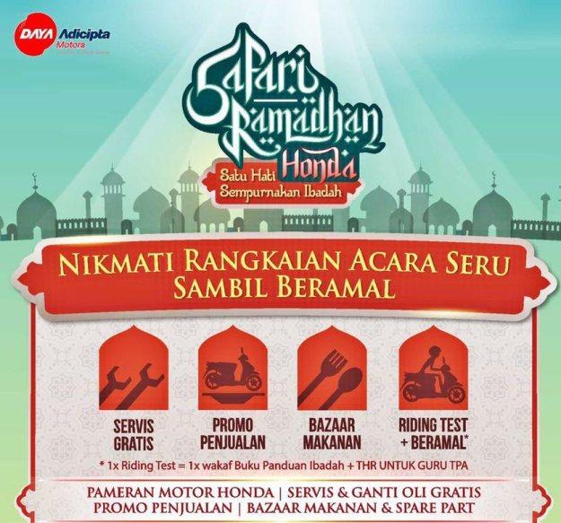 Safari Ramadhan Honda Tegalega1