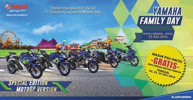 Gratis Masuk Ancol Motor Yamaha