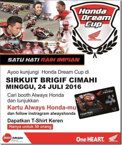 Honda Dream Cup Always Honda