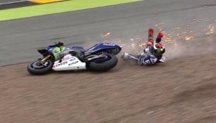 lorenzo crash sachsenring