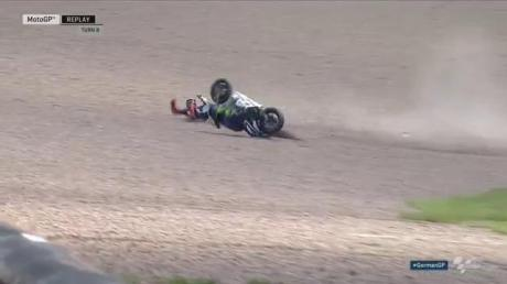 Lorenzo crash