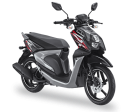 All New Yamaha X Ride 2017 125 cc hitam tough black