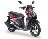 All New Yamaha X Ride 2017 125 cc merah passion red
