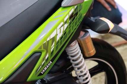 All New Yamaha X Ride 2017 125 cc suspensi tabung