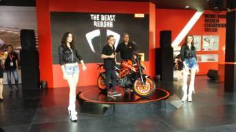 Launching KTM Duke PRJ 2017